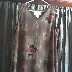 Norton large sleeveless dress